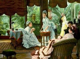 James Jacques Tissot: Im Wintergarten (Die Rivalen)