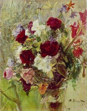 Max Slevogt: Blumenstrauß