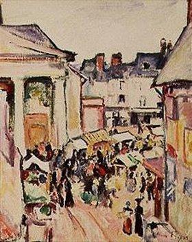 Emile Othon Friesz: Ein Sonntag in Honfleur