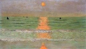 Felix Vallotton: Sonnenuntergang