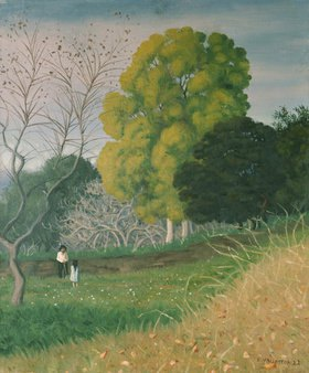 Felix Vallotton: Der grüne Baum, Cagnes