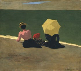 Felix Vallotton: Am Strand