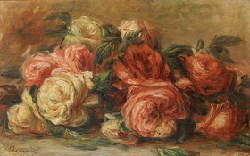 Auguste Renoir: Welkende Rosen