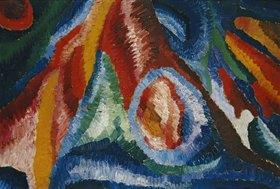 Wilhelm Morgner: Astrale Komposition XXII