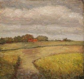 Wilhelm Morgner: Herbstliche Felder