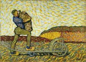 Wilhelm Morgner: Der Bauer mit dem Sack