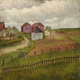 Wilhelm Morgner: Häuser