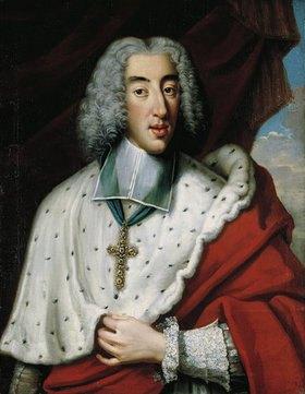 Jan Frans van Douven: Brustbildnis des Clemens August von Bayern als Kurfürst von Köln