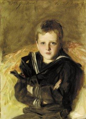 John Singer Sargent: Portrait von Caspar Goodrich. (o.J.)
