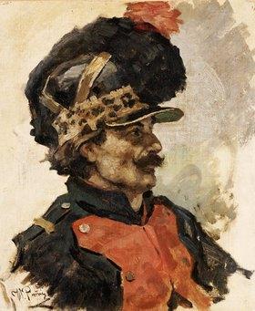 Ilja Efimowitsch Repin: Ein französischer Soldat