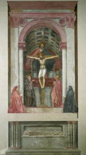 Masaccio: Heilige Dreifaltigkeit
