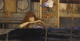 Fernand Khnopff: Ich schließe mich selbst ein (I lock my door upon myself)