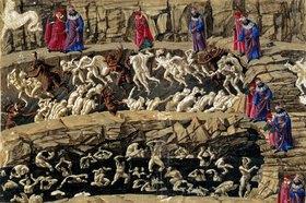 Sandro Botticelli: Die Göttliche Komödie von von Dante, Inferno XXXI