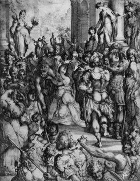 Jacques Bellange: Das Martyrium der Heiligen Lucia