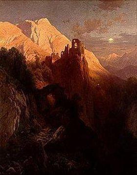 Adalbert von Waagen: Die Ruine Kühbach bei Bozen