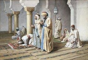 Frederico Bartolini: Araber beim Gebet
