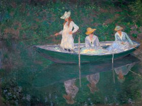 Claude Monet: Eine Bootspartie in Giverny