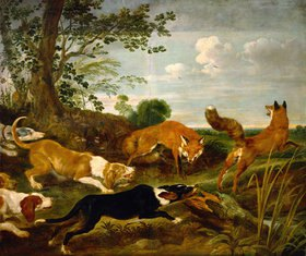 Paul de Vos: Fuchsjagd