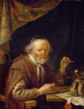 Gerrit (Gerard) Dou: Der Goldhändler