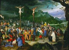 Jan Brueghel d.Ä.: Kreuzigung Christi