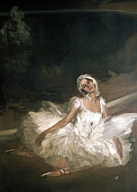 Sir John Lavery: Der sterbende Schwan: Anna Pawlowa