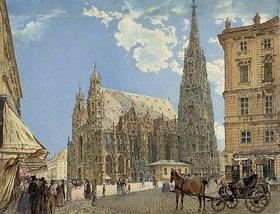 Rudolf von Alt: Der Stephansdom in Wien