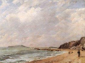 John Constable: Ansicht von Osmington Bay, Dorset, mit Blick auf Portland Island
