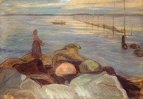 Edvard Munch: An der Küste