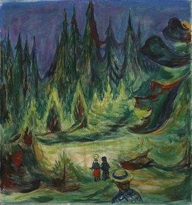 Edvard Munch: Der Märchenwald