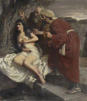 Emil Gies: Susanna im Bade. Nach