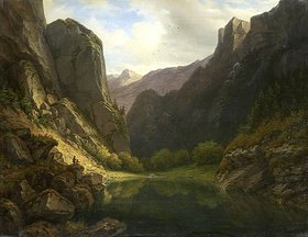 Carl Morgenstern: Bergsee