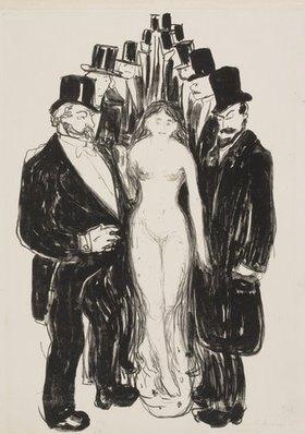 Edvard Munch: Die Gasse