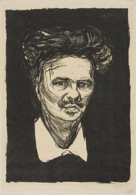 Edvard Munch: August Strindberg. 1896