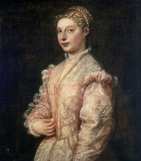 Tizian (Tiziano Vecellio): Bildnis von Lavinia