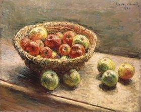 Claude Monet: Ein Korb mit Äpfeln