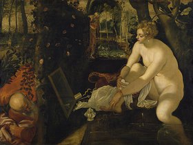 Tintoretto (Jacopo Robusti): Susanna im Bade