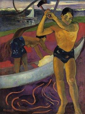 Paul Gauguin: Der Mann mit der Axt