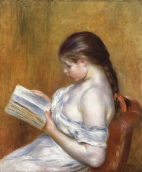 Auguste Renoir: Die Lektüre