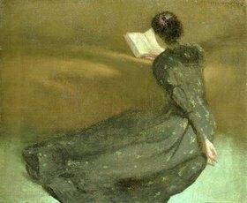 John White Alexander: Lesestündchen