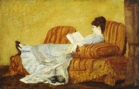 Mary Cassatt: Junge Frau beim Lesen