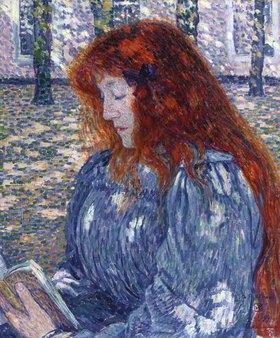 Theo van Rysselberghe: Lesende Frau