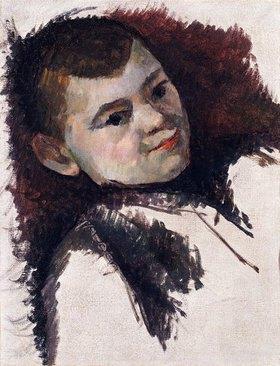 Paul Cézanne: Portrait von Paul Cézanne, dem Sohn des Künstlers. Um 1885
