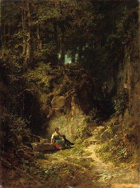 Carl Spitzweg: Waldlandschaft