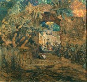 Isaak Brodskij: Taverne in einer Grotte
