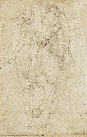 Leonardo da Vinci: Pferd und Reiter