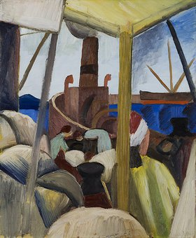 August Macke: Hafen in Tunis