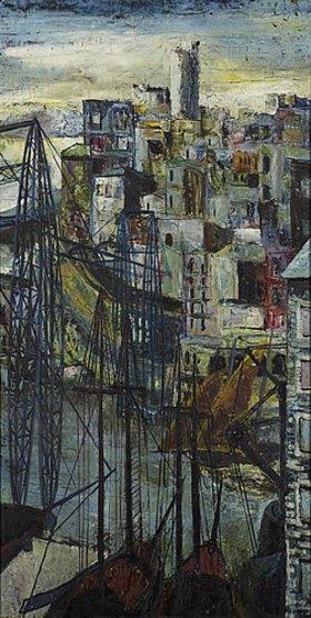 Hanns Ludwig Katz: Hafen von Marseille