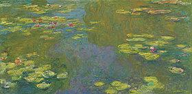Claude Monet: Der Seerosenteich (Le bassin aux nympheas)