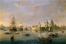 Gaspar Adriaens van Wittel: Hafeneinfahrt mit Guidecca von Venedig