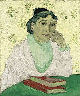 Vincent van Gogh: L'Arlésienne (Madame Ginoux)
